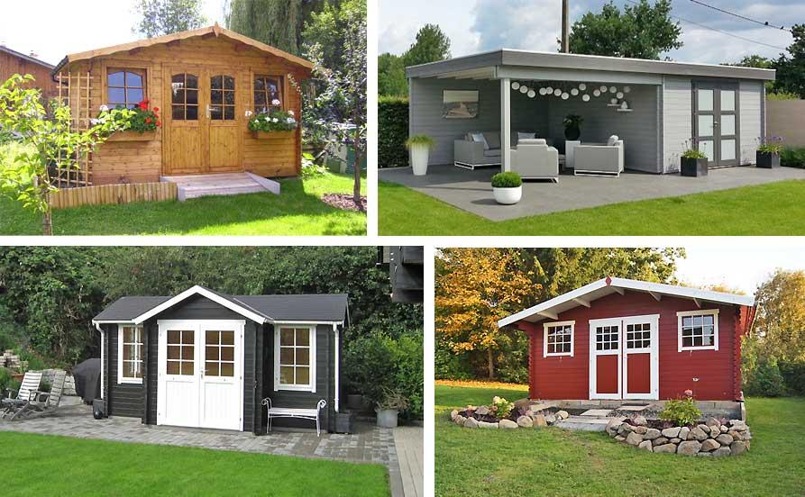 Das Gartenhaus Streichen Gartenhausfabrik Magazin