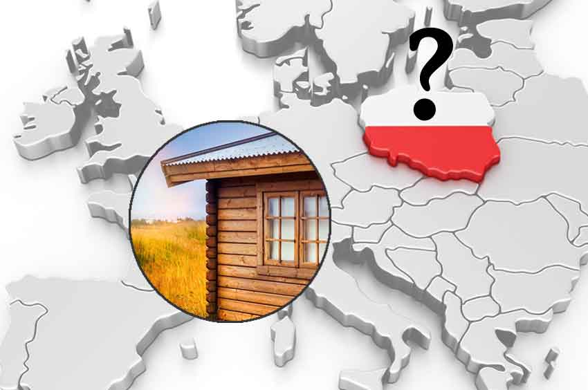 Ein Gartenhaus aus Polen?