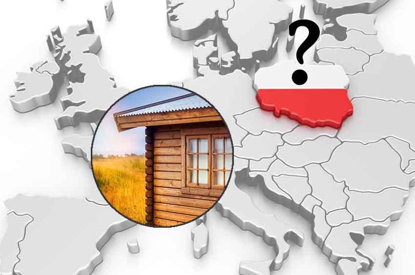 Gartenhaus aus Polen