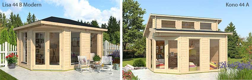 Gartenhäuser LISA und CONO