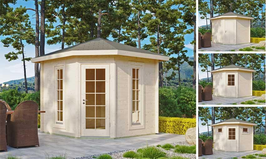 Gartenhaus Panta 28 - 3x3m