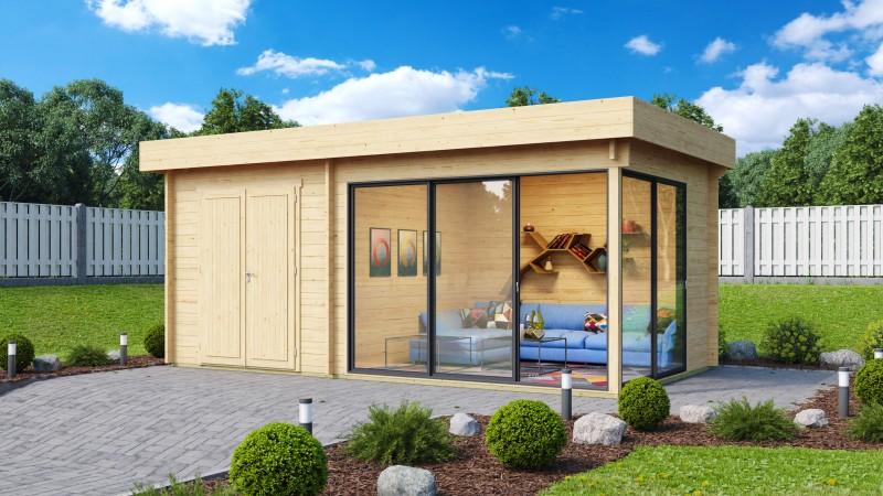 Gartenhaus Alu Concept 70 J