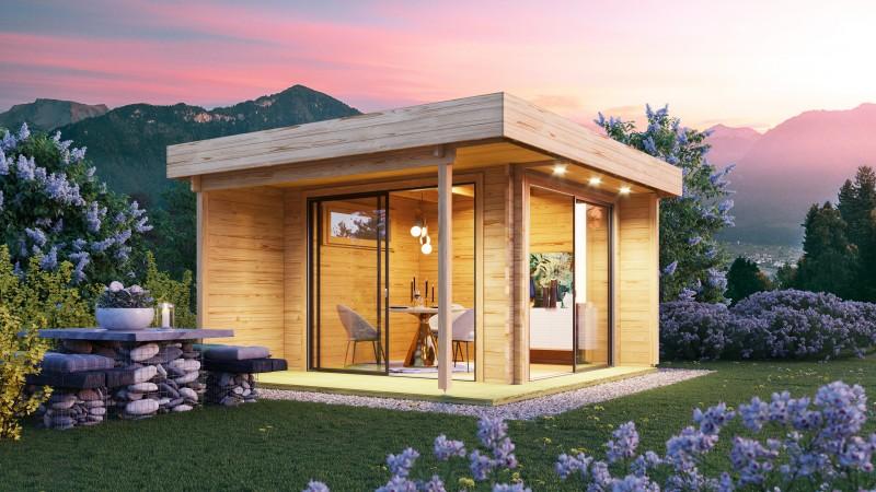 Gartenhaus Modell Alu Concept Relax 70 D