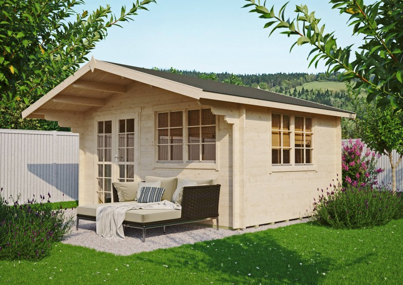 Gartenhaus Modell Carl 40 B