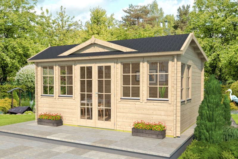 Gartenhaus Modell Clockhouse Newcastle 44