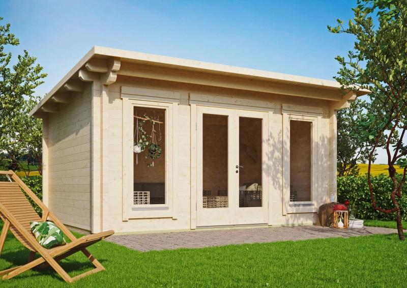 Pultdach Gartenhaus Modell Jacob 90 E