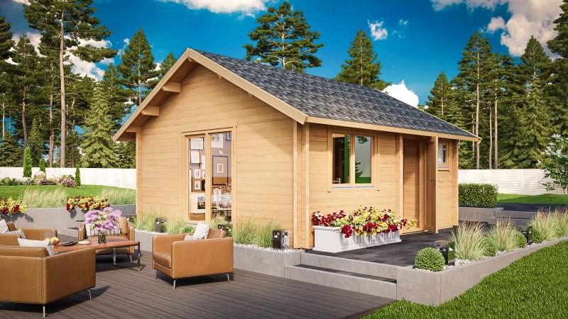 Ferien- und Freizeithaus Modell Melanie 44