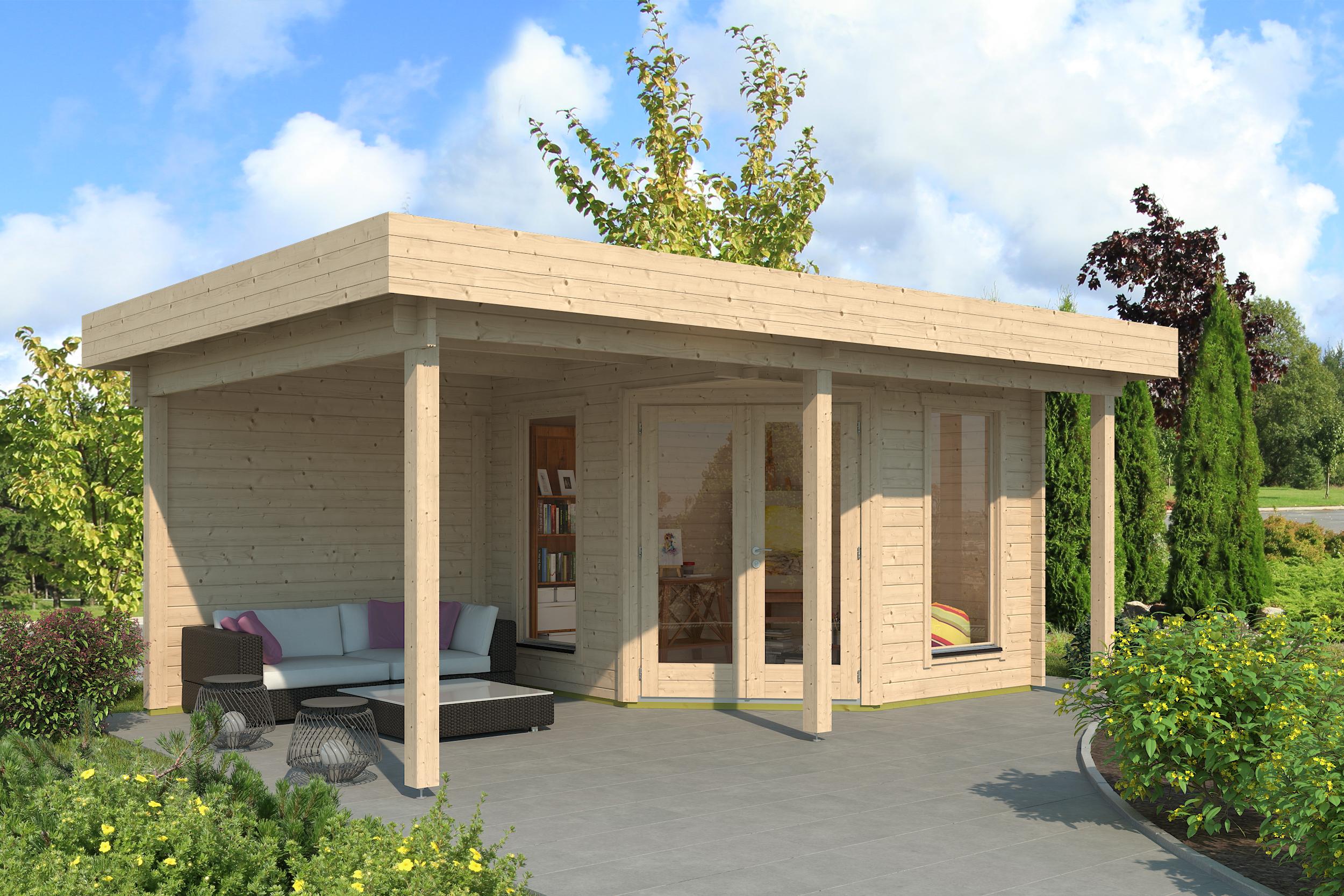 Gartenhaus Modell Nora 20 G Modern