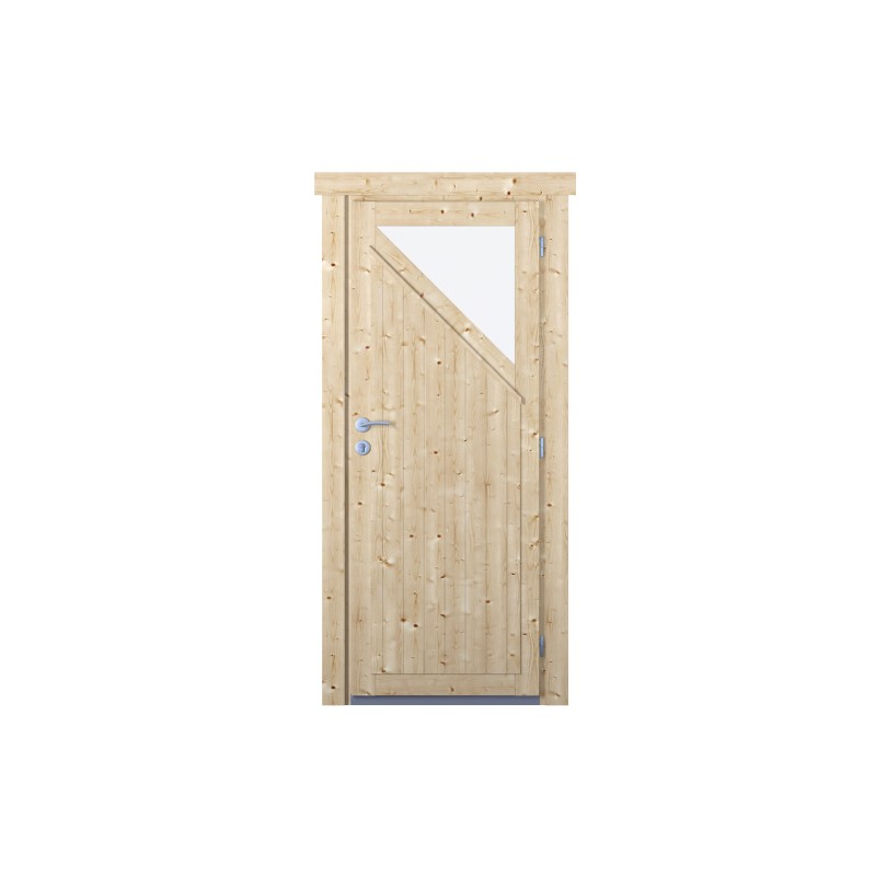 Extra hohe Einzeltür D90-210-K
