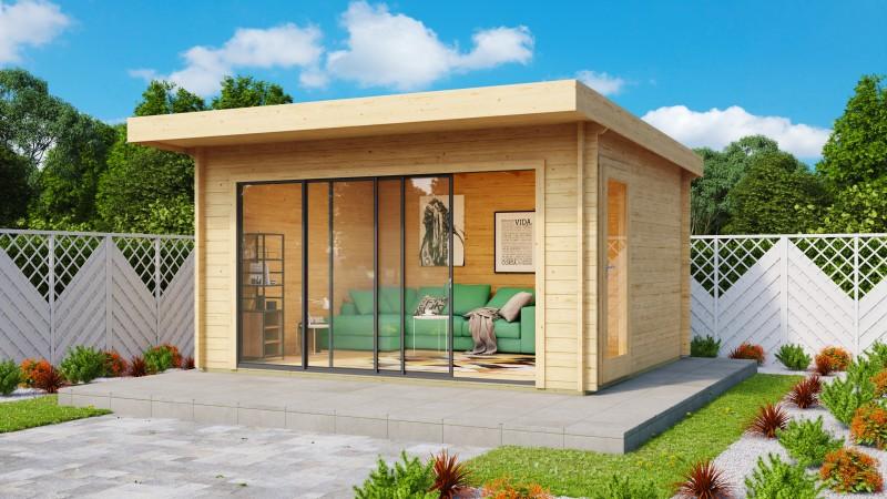 Gartenhaus Modell Alu Concept 44 E