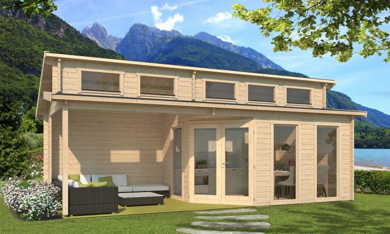 Gartenhaus Modell Kono 44 C