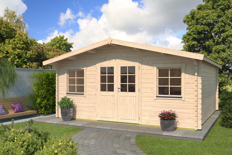 Gartenhaus Modell Pepe 44