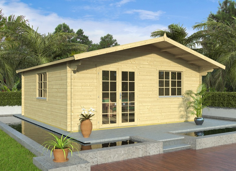Gartenhaus Modell Rocky 44