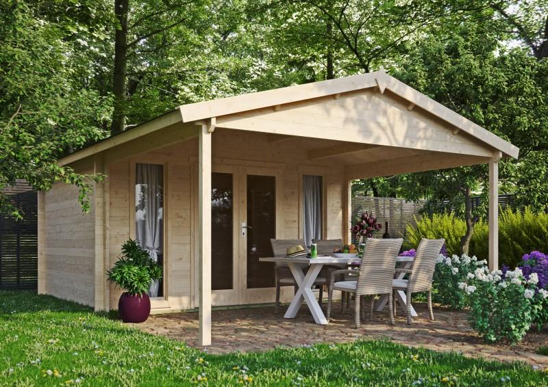 Gartenhaus Modell Luise 40 E