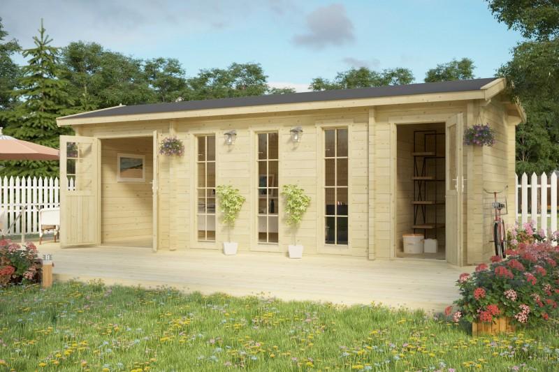 Gartenhaus Modell Sudbury 70