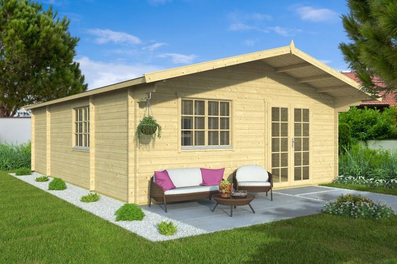 Gartenhaus Modell Raik 44