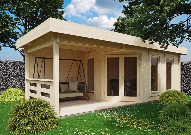 Gartenhaus Modell Nora 44 F Modern