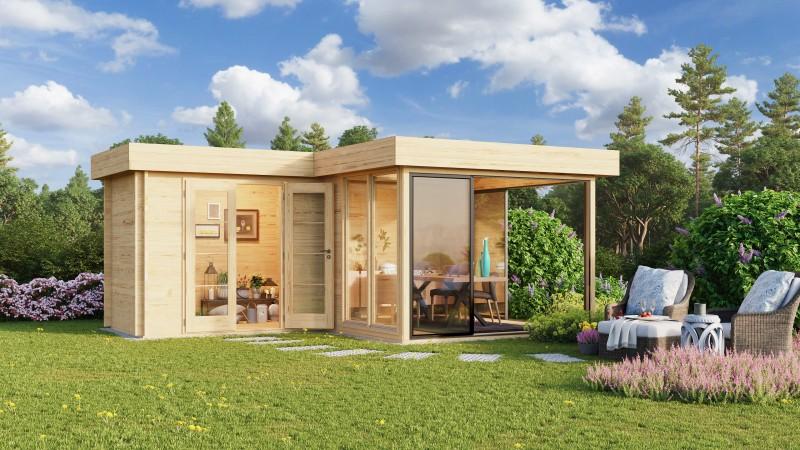 Gartenhaus Modell Alu Concept 70 M