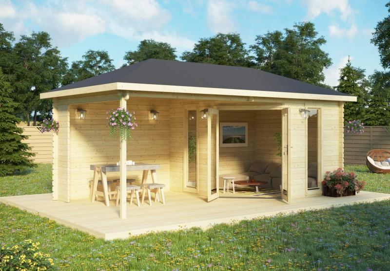 Gartenhaus Modell Jokkmokk 40