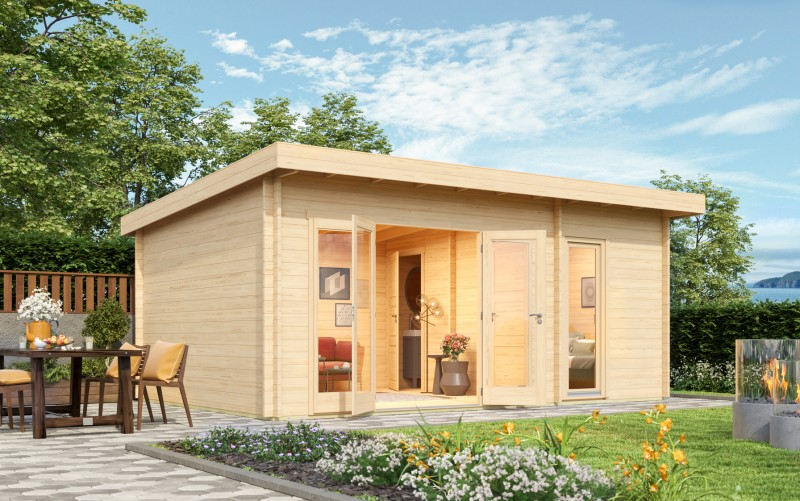 Gartenhaus Modell Rita 44