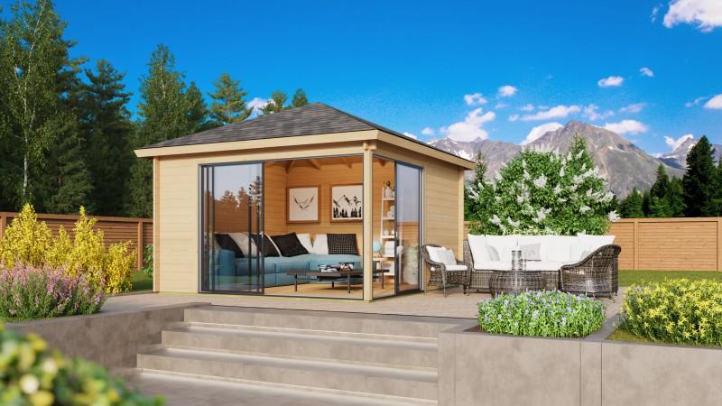 Gartenpavillon Modell Alu 44 E