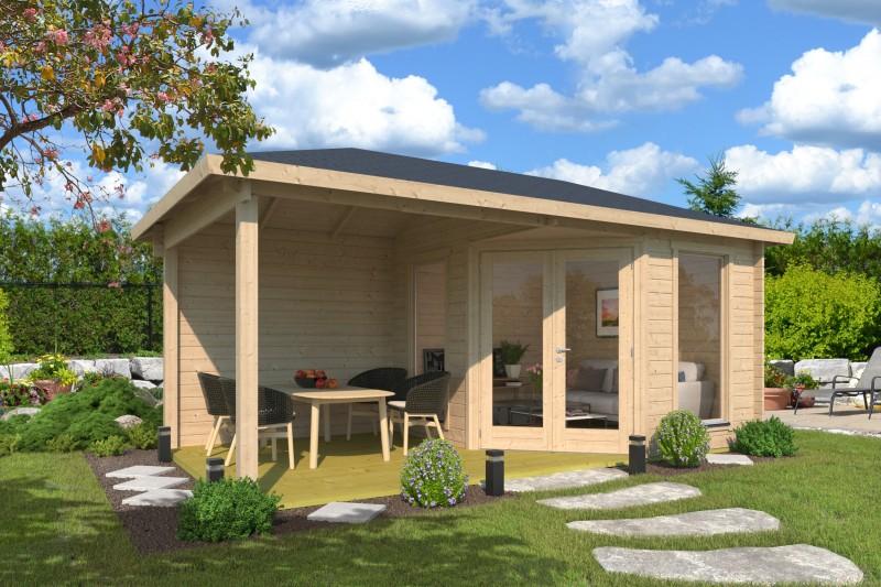 5 Eck Gartenhaus Modell Lisa 44 D Modern