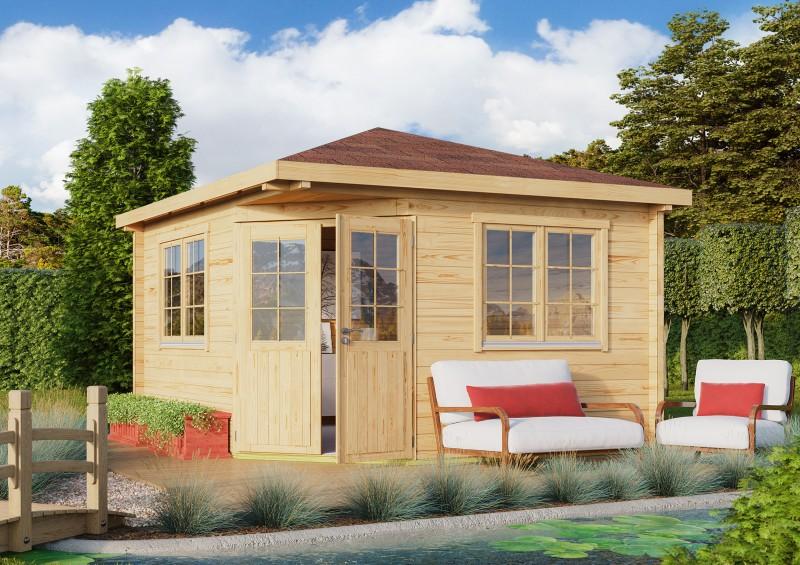 5 Eck Gartenhaus Modell Fargo 70