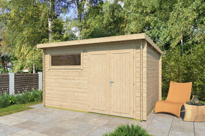 Pultdach Gartenhaus Modell Gent 28 E