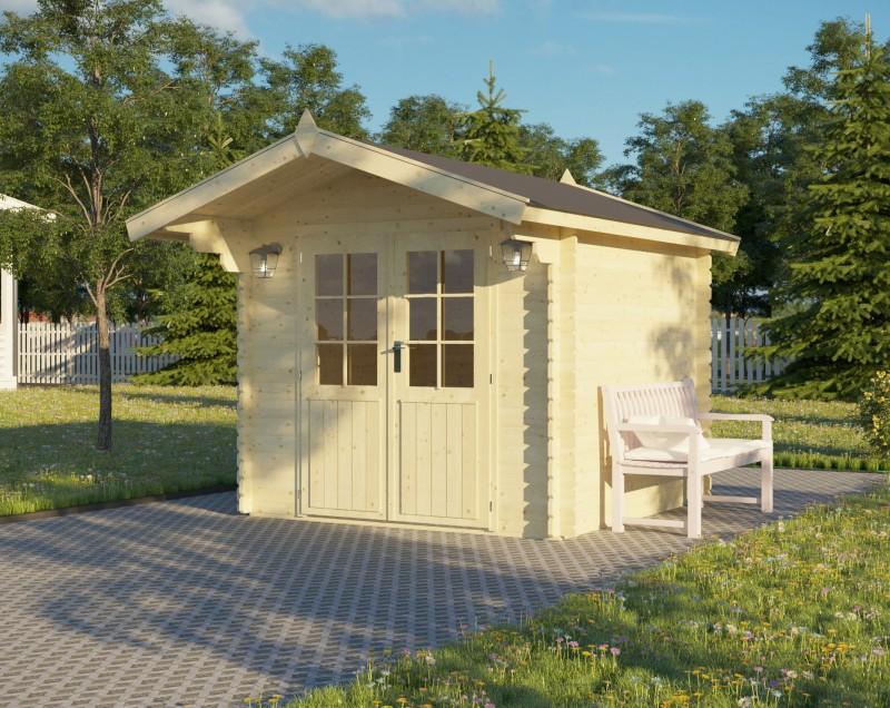 Gartenhaus Modell Lily 28