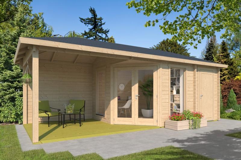 5 Eck Gartenhaus Modell Lisa 44 E Modern