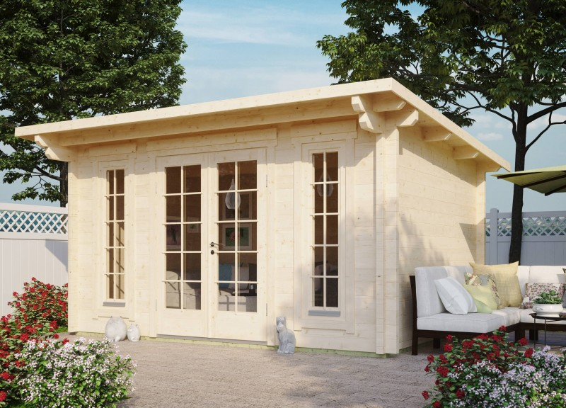 Pultdach Gartenhaus Modell Jacob 70 B