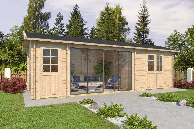 Satteldach Gartenhaus Modell Vaasa 44