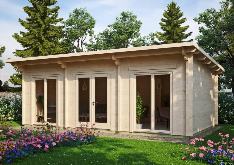 Pultdach Gartenhaus Modell Jacob 70 H