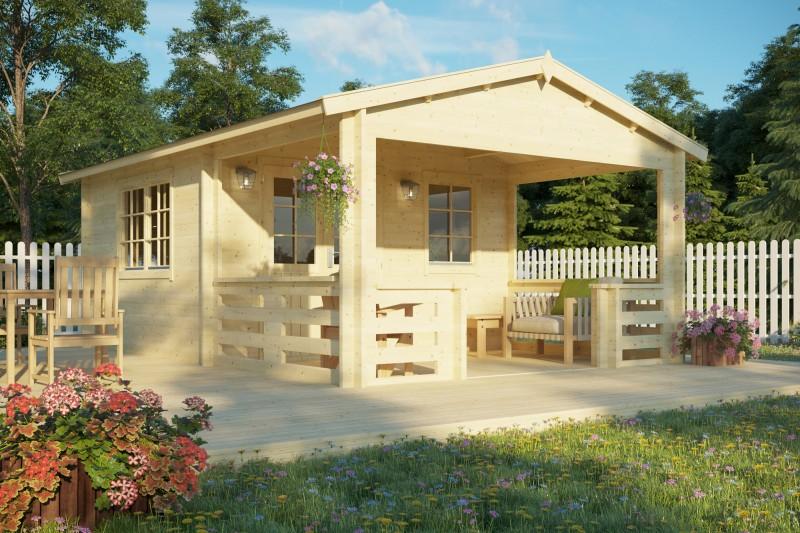 Gartenhaus Modell Lund 40