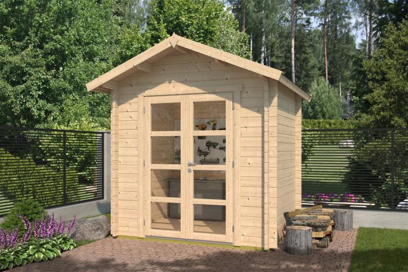 Gartenhaus Modell Lexi 44 C Premium