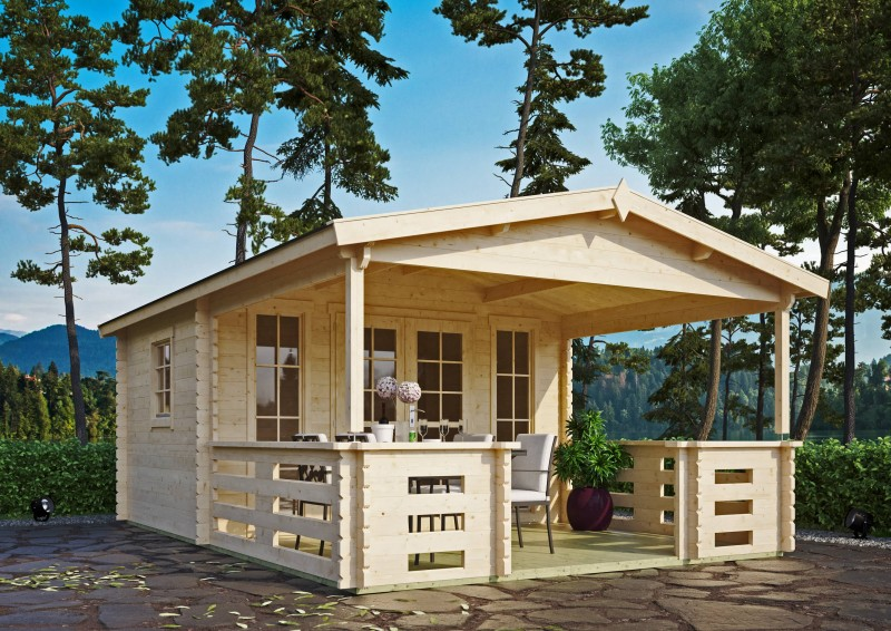 Gartenhaus Modell Franjo 44 B