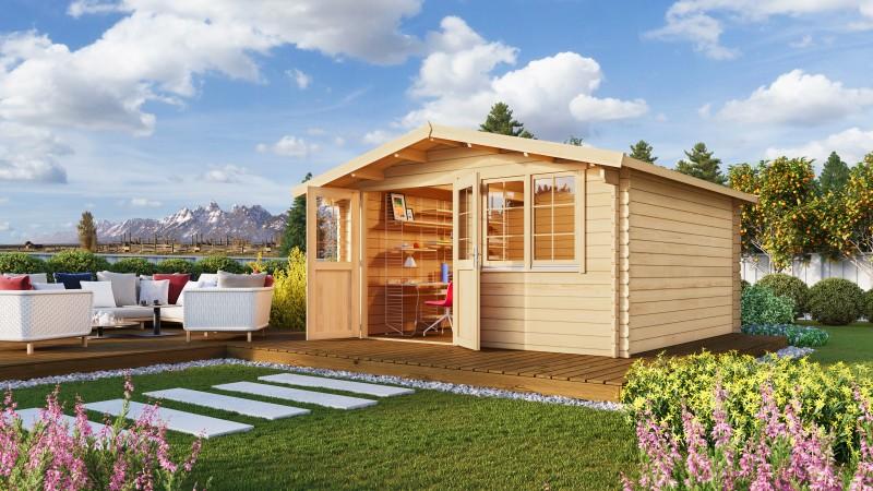 Gartenhaus Modell Robert 44