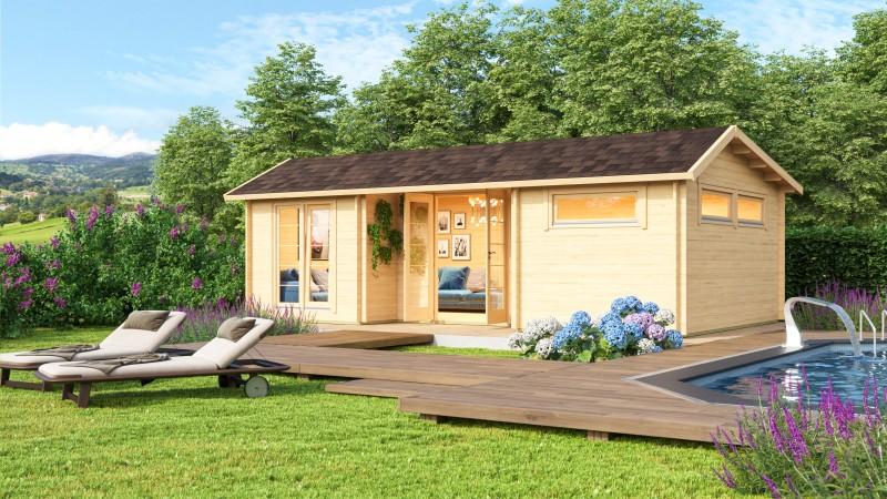 Gartenhaus Modell Uri 44