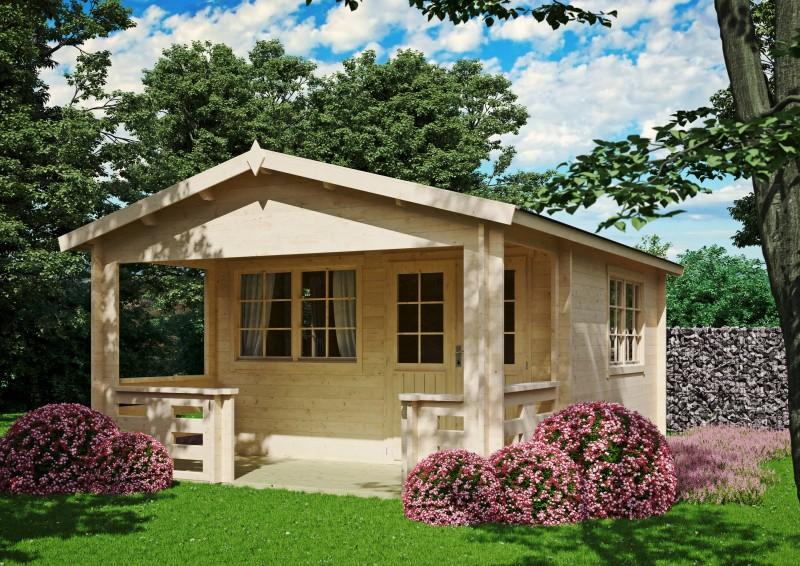 Gartenhaus Modell Johnny 40 A