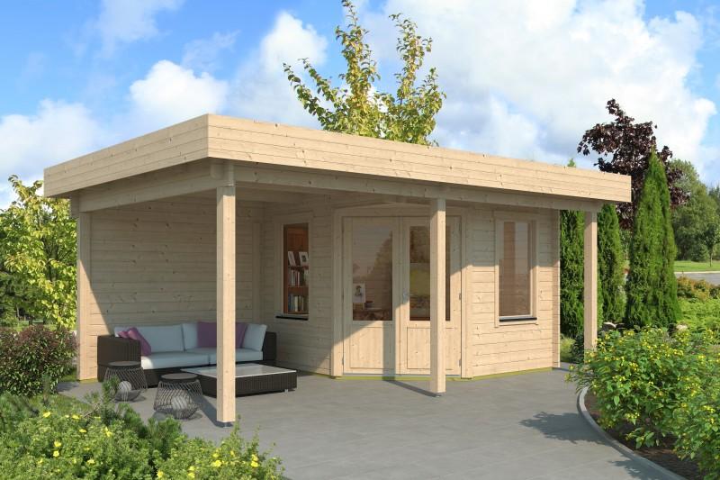 Gartenhaus Modell Nora 44 G Klassik