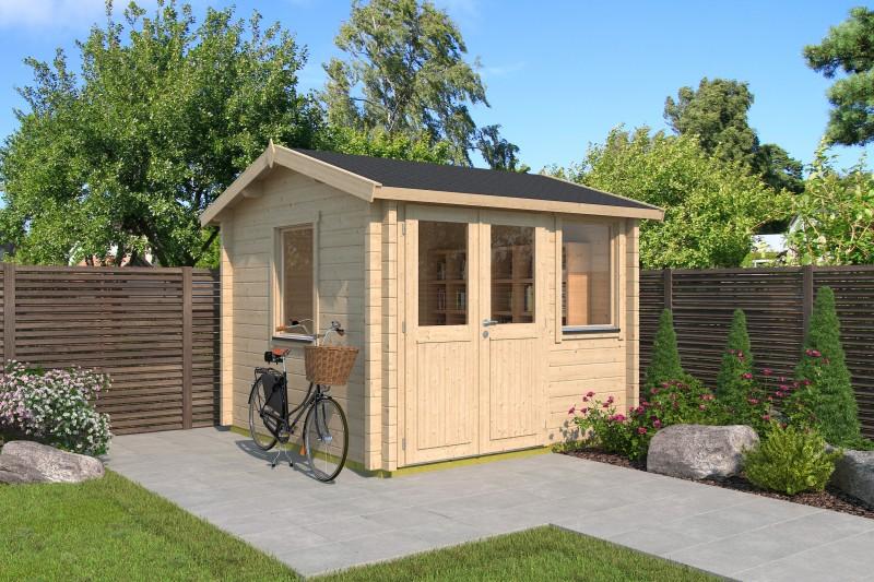 Satteldach Gartenhaus Modell Narvic 44 A