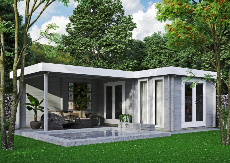 Gartenhaus Modell Luisa 70