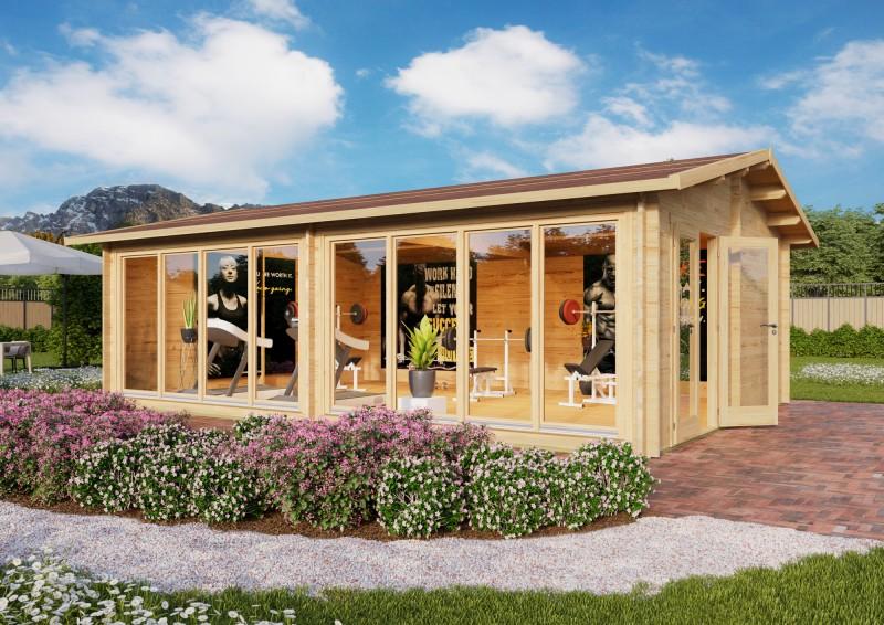 Gartenhaus Modell Marina 44