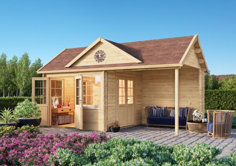 Gartenhaus Modell Clockhouse Kirkless 44