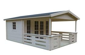 Gartenhäuser mit Terrasse