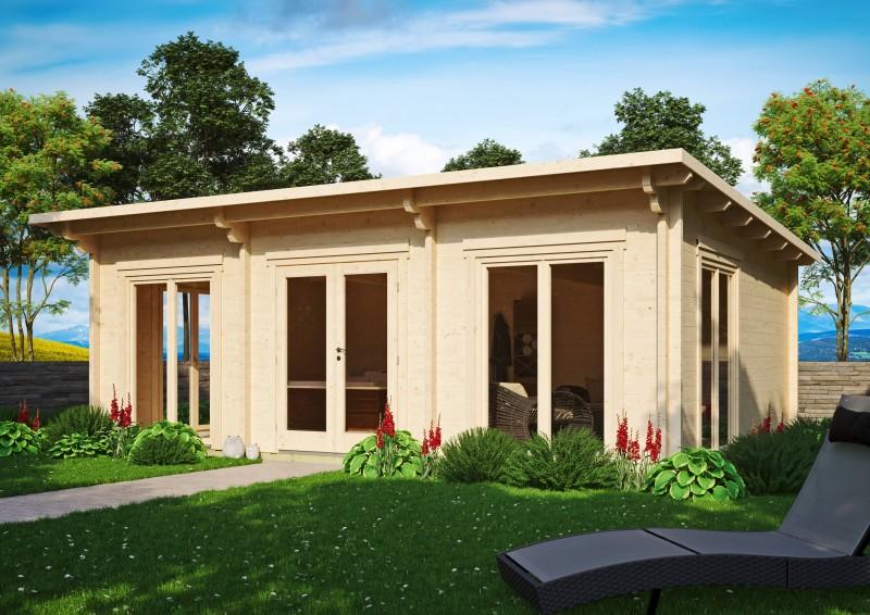 Pultdach Gartenhaus Modell Jacob 70 I