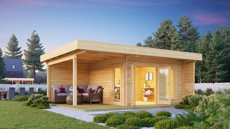 Gartenhaus Modell Petra 44 D