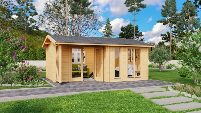 Gartenhaus Modell Adele 44