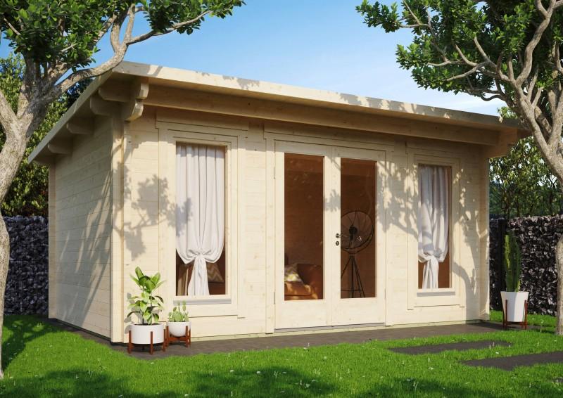 Pultdach Gartenhaus Modell Jacob 70 D