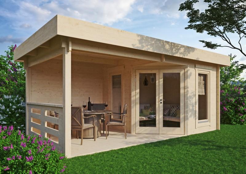Gartenhaus Modell Nora 44 D Modern